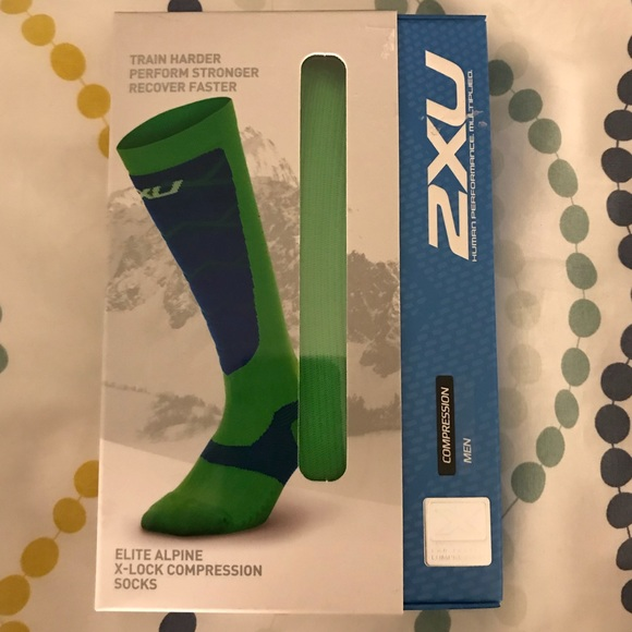 75715cc1cc NIB 2XU Men's Elite Alpine X-Lock Compression. Listing Price: $20.00